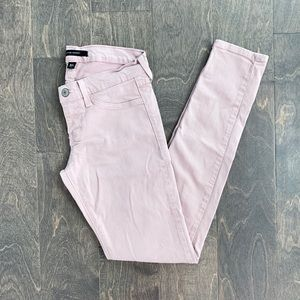 Flying Monkey Dusty Rose Pink Skinny Jeans